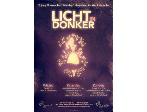 Geschenkenbeurs Licht in Donker Steinerschool Antwerpen  1-2 dec 2018